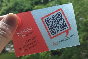 Business cards are making a comeback with qr codes how ugly those qr codes are but with the right design a qr code business card can not only make a statement but also be a fun conversation starter reheart Images
